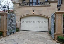 Sectional Overhead Garage Door, CE approved security door