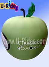 Green apple shape Inflatable balloon