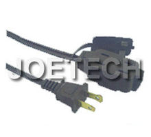 UL Power Cord set UL approved indoor extension cord