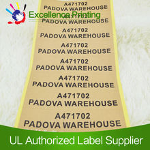 self adhesive hs code for labels