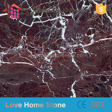 Italy Supplier purple red marble