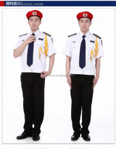 Fashion western style bellboy uniform for hotel doorman