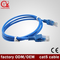 Patch cord U/UTP category 5e Blue Lan cable rj45
