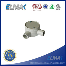 electrical box 2 way angle entries / two way entry conduit box