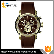 OEM & ODM Wristwatches Man Silicone Wrist Sports Watch with Superior Quality