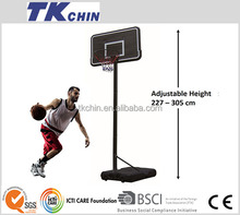 CE certificated High quality portable basketball hoop set stand