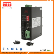 modbus to optic fiber converter applied in industrial remote control field