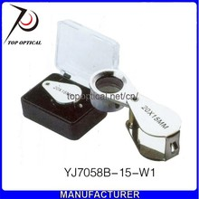 Best selling product 20X mini jewelry magnifier loupe