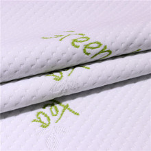 Fashionable Patterns Green Tea Poly Rayon Jacquard Knittedting Most Popular 100% Polyester Double Knit Mattress Fabric