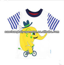 Wholesale fashion child clothing custom cheap kids t shirt with cute printing