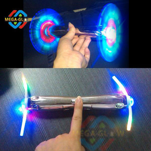 2014 led double head spinning windmill
