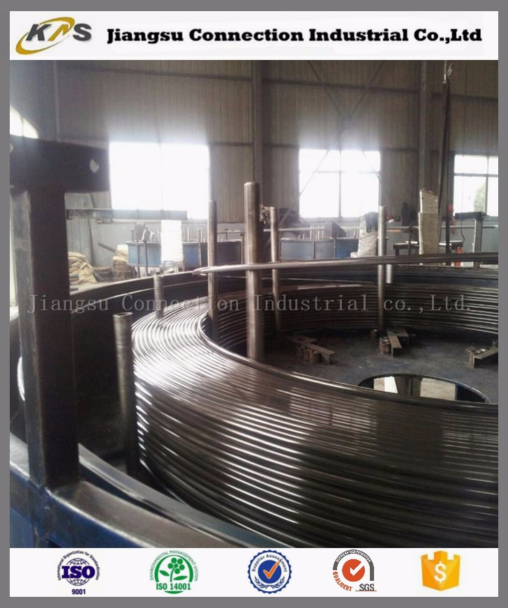 Oil quenching tempering high carbon flat spring steel wire for railway fastener