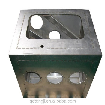 Qingdao Customized sheet metal work fabrication for OEM service