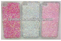 Newest 3D Attractive Pretty Girl Sparkle Bling Luxury Crystal Case for iPhone 5