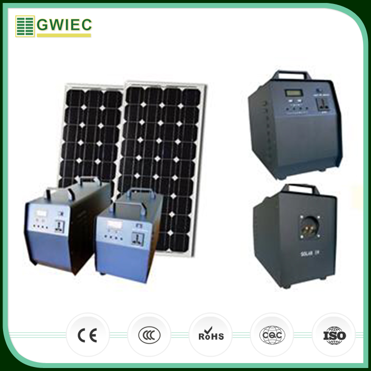GWIEC New Products 2016 Portable 220V Solar Power System For Home For Pakistan