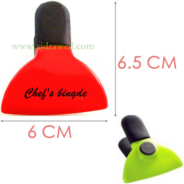 MC-3280 Small 6 CM Promotional Plastic magnetic clip