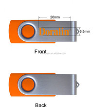 2gb 4gb 8gb 16gb 32gb 64gb Full Capacity Rotator USB 2.0 Cheap Swivel USB Flash Drive