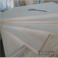 Paulownia Solid Wood Boards Finger Jointed board