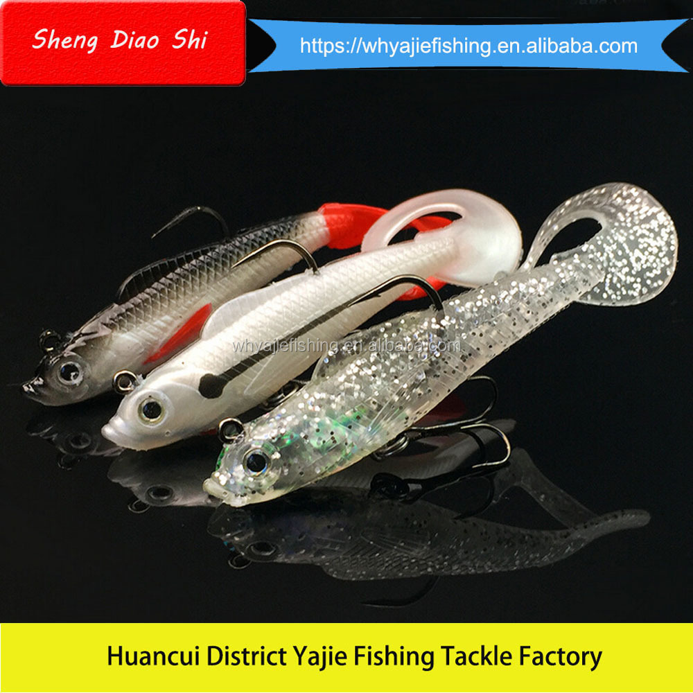 2016 China Wholesale Lure/Soft Plastic Fishing Lures/ Artificial Baits