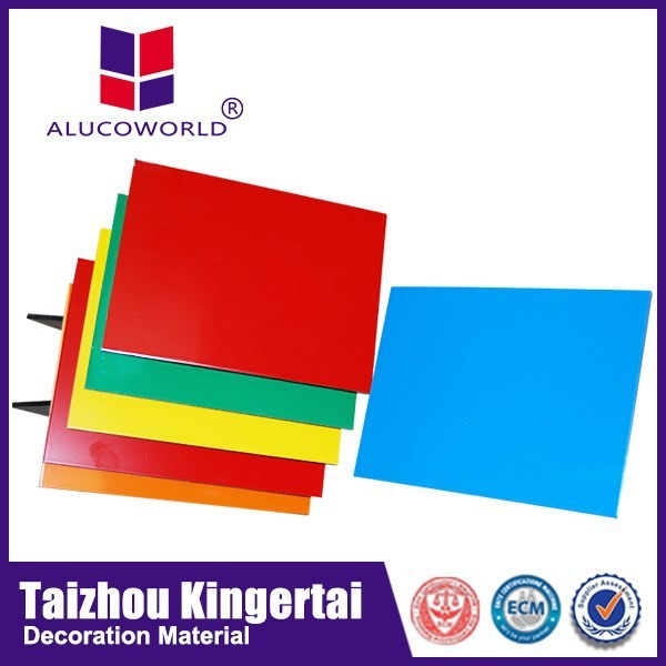 Alucoworld interior finishing material aluminium composite panel surabaya aluminum plastic