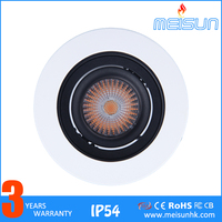 Commercial Shopping Mall Rotatable 7w Cob Led Downlight Led Downlight Kit