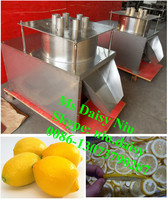 commercial fruit and vegetable slicing machine/olive slicer machine/Citrus orange cutting machine