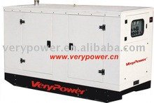 diesel generator set of Yanmar and Stamford alternator with automatic control panel