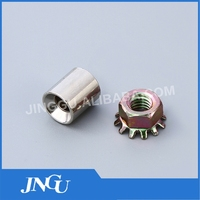 NT002 Nickel Plated Special Coupling Nut Wholesale