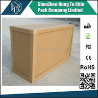 Strong paper 7 ply corrugated carton cargo box