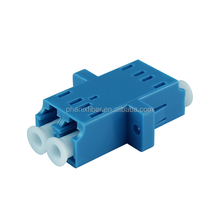 Special Bargins! Factory supply fiber optic LC SM/MM duplex adaptor on sale