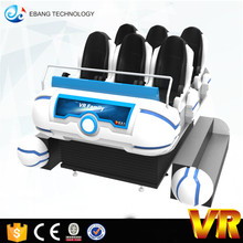 Amusement Game Virtual Reality Dynamic 9d Vr family 6seater Cinema Simulator