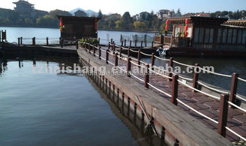 pontoons for floating house
