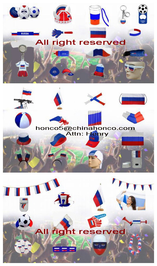 WM 2018 Russia soccer fans hawaii flower chain set