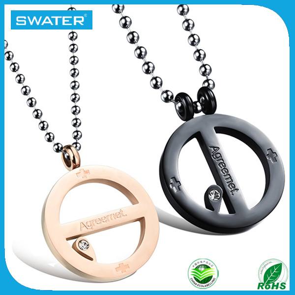Best Selling Items Round Necklace Clip Pendant