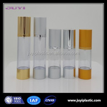 AS airless pump bottle cosmetic for personal care plastic bottle cosmetics packaging airless
