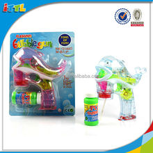 Good sale summer toy with light and music bubble gun