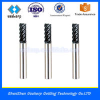 45HRC 4 Flute solid carbide Roughing End Mills