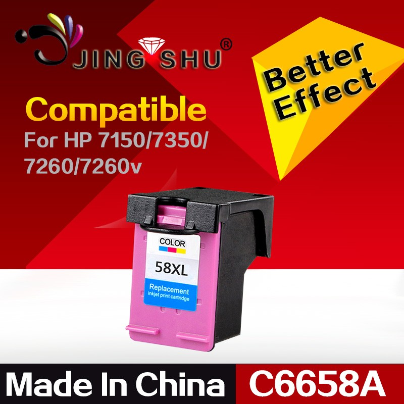 hot ink cartridge 58 C6658A for HP 7150/7350/7260 Color inkjet printers