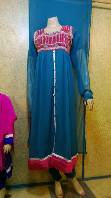 pakistani long frock