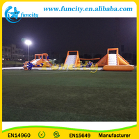 Seashore Commercial Giant Inflatable Floating Water