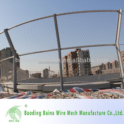 China Manufacturers Metal facades Flexible metal mesh netting Stainless steel cable netting Cheap Low Price For Sale
