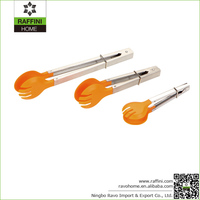 Essential Cooking Utensils Stainless and Nylon Spatula Tongs