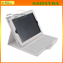 New Design Wireless Bluetooth Keyboard for iPad 2 3 4 Bluetooth Keyboard with Leather Case