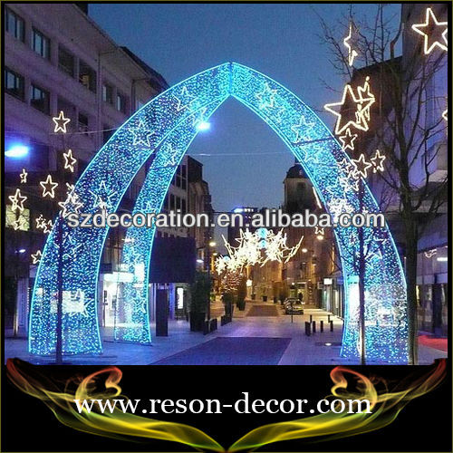 discount outdoor traditional christmas decorations led huge light arch