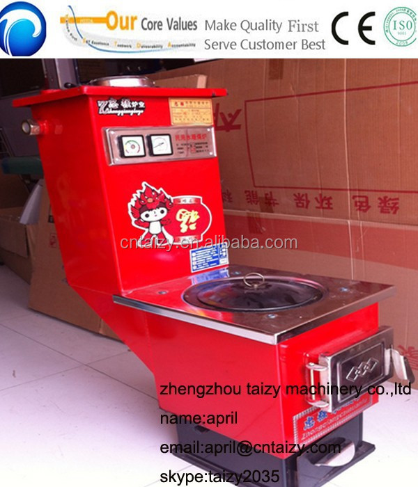 Heating stove for Central air conditioning unit