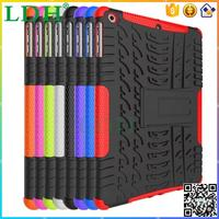 New design colorful Shockproof Anti-throw TPU Rubber oil paint PC heavy duty Hybrid case cover for iPad air/air 2