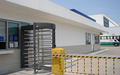 flexible entrance and maximum security gates can be tailor made to fit the design of the location full Height Turntile gate