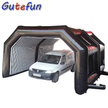 6m mobile inflatable car cover shelter portable inflatable garage tent for car