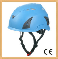 high quality cheap safety helmet,rock climbing helmet blue