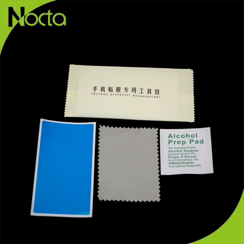 Professional dust cloth, sticker, wet wipes for screen protector